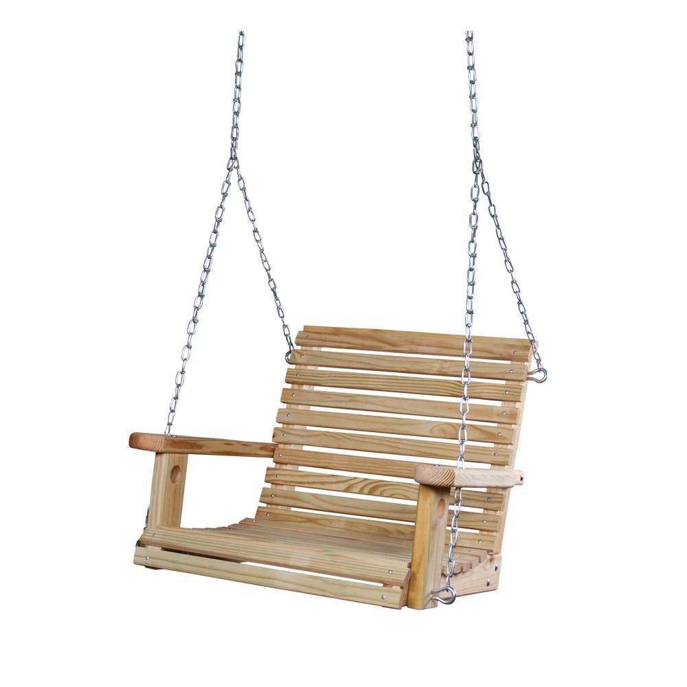 Gorilla Playsets Adult Babysitter Swing, Wood
