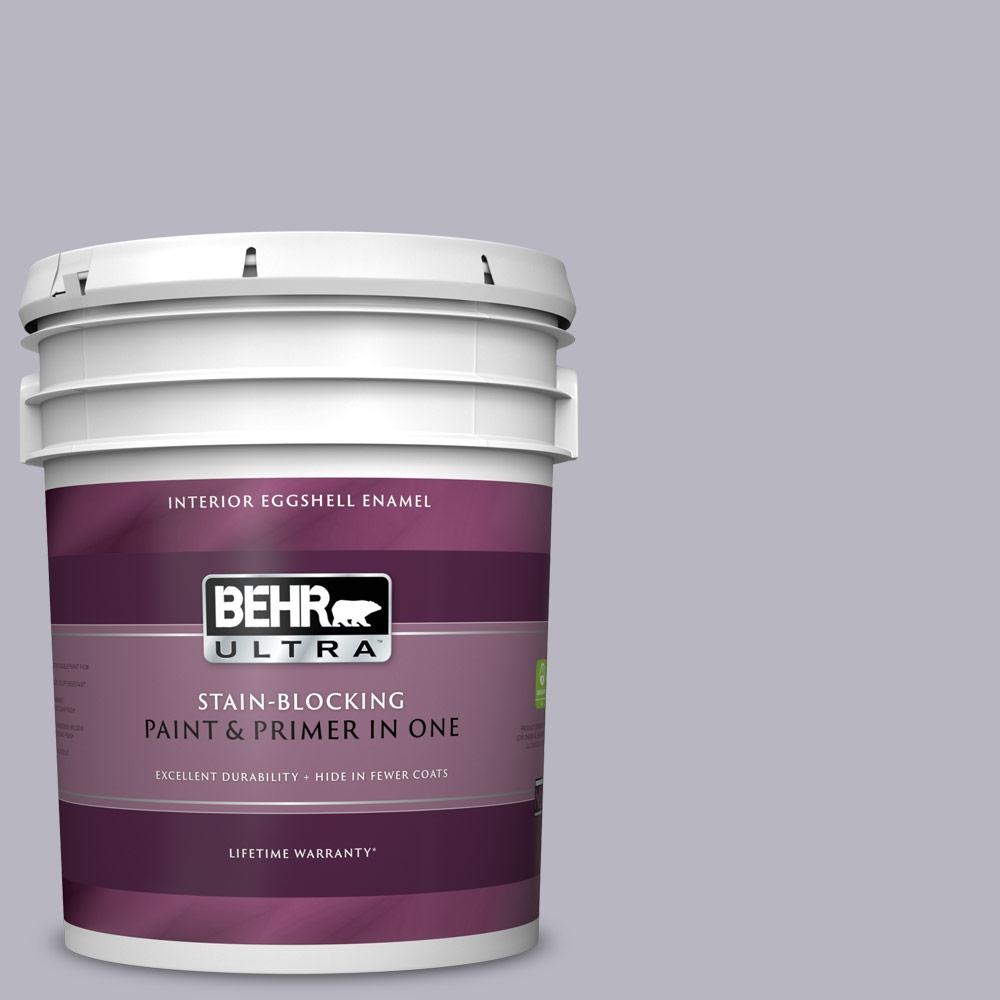 Behr Ultra 5 Gal N550 3 Best In Show Eggs Enamel Interior Paint And Primer One