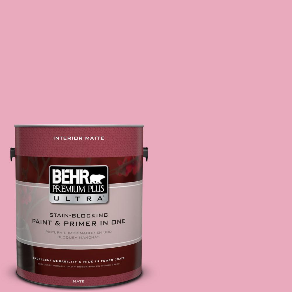 BEHR Premium Plus Ultra 1 gal. #T11-14 Kawaii Flat/Matte Interior Paint