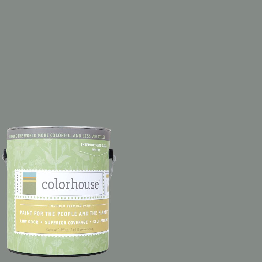 Colorhouse 1 gal. Stone .07 Semi-Gloss Interior Paint