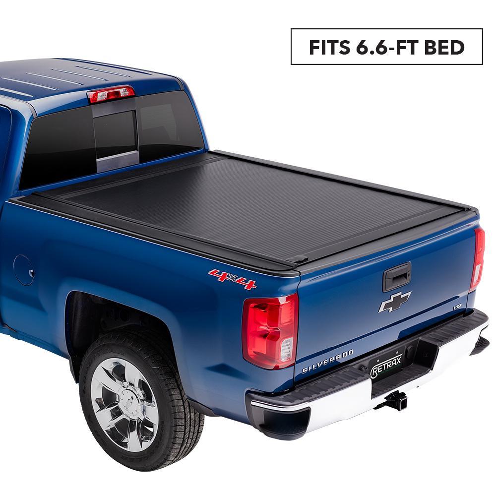Silverado Bed Cover >> Retrax One Mx Tonneau Cover 99 06 07 Classic Chevy Silverado Gmc Sierra 6 6 Bed Wide Rail