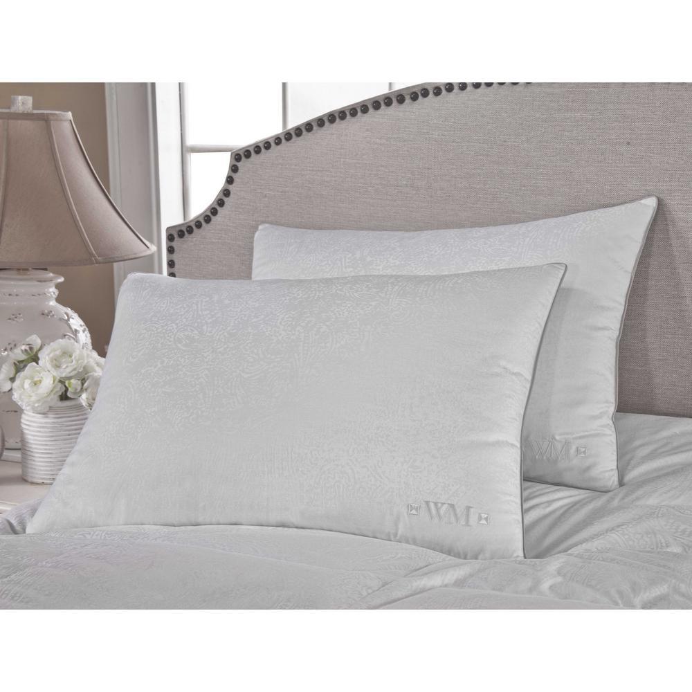 300TC Yarn Dyed Goose Down King Pillow