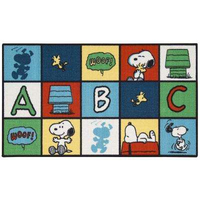 Friends Pop Art Multi 2 ft. x 4 ft. Area Rug