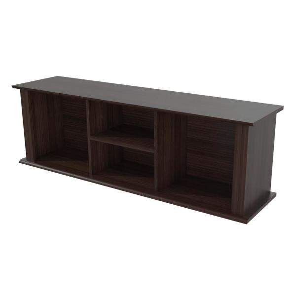 Inval Espresso-Wenge Wall Mounted Hutch RE-0732