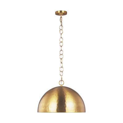 ED Ellen DeGeneres Crafted by Generation Lighting Whare 1-Light Burnished Brass Large Pendant