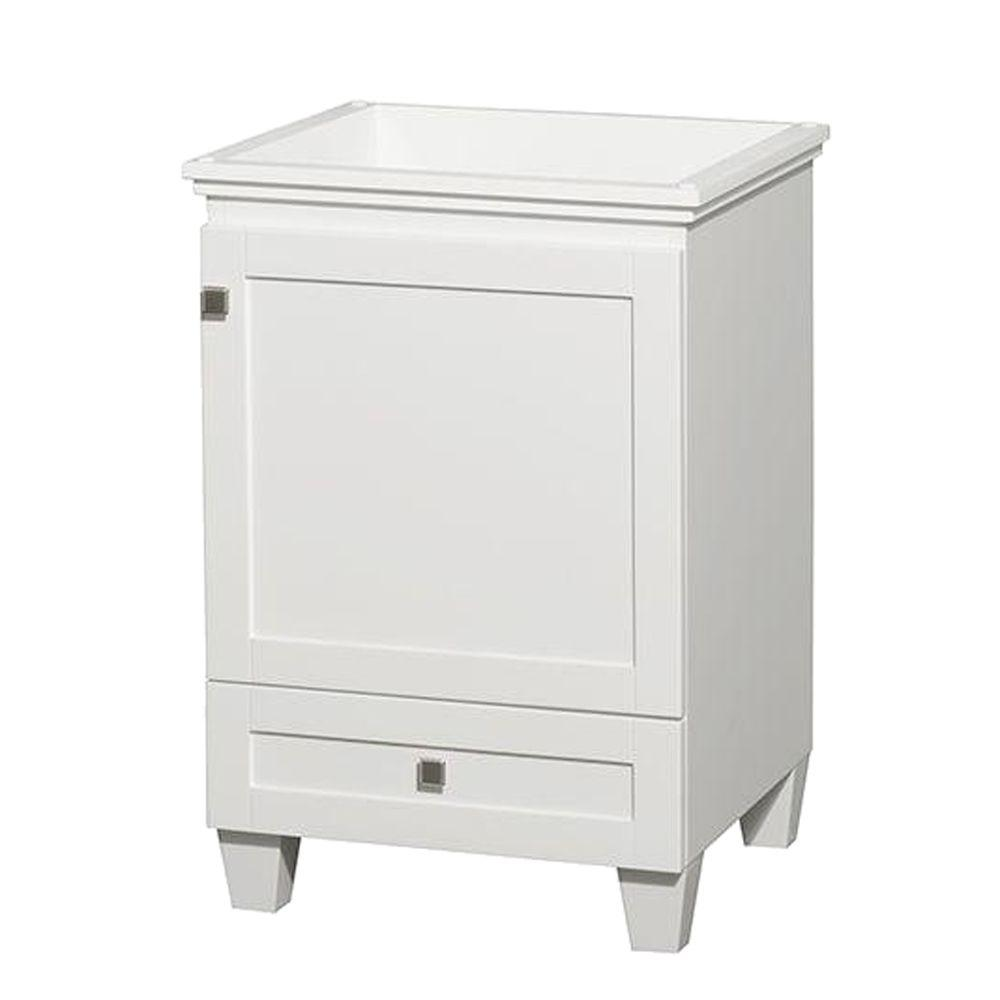 Acclaim 24 in. Vanity Cabinet Only in White
