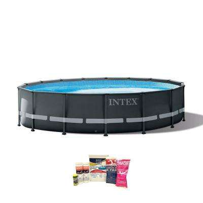 16 ft. x 48 in. Ultra XTR Frame Above Ground Pool with Pump and Cleaning Kit