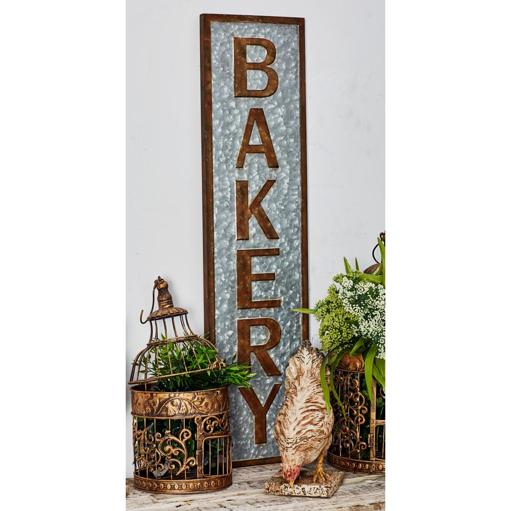 BAKERY Iron Decorative Sign