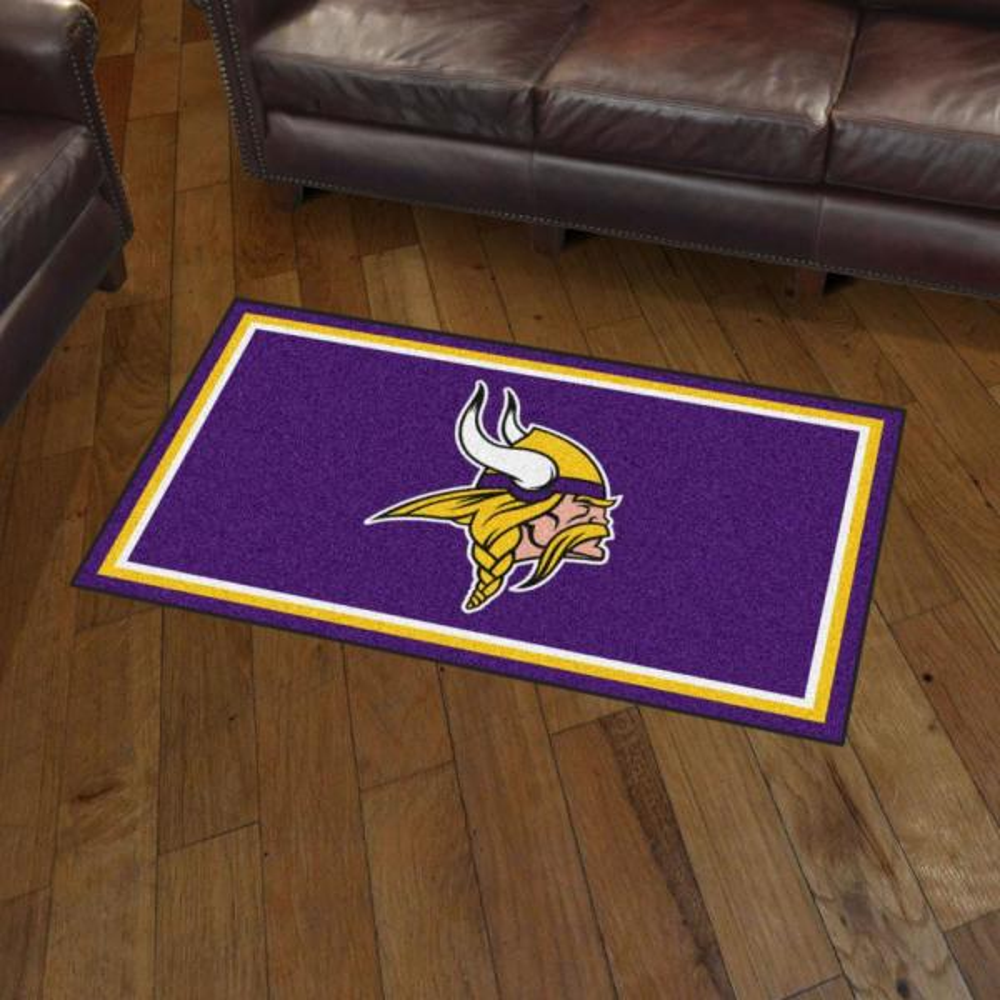 Fanmats Nfl Minnesota Vikings 3 Ft X