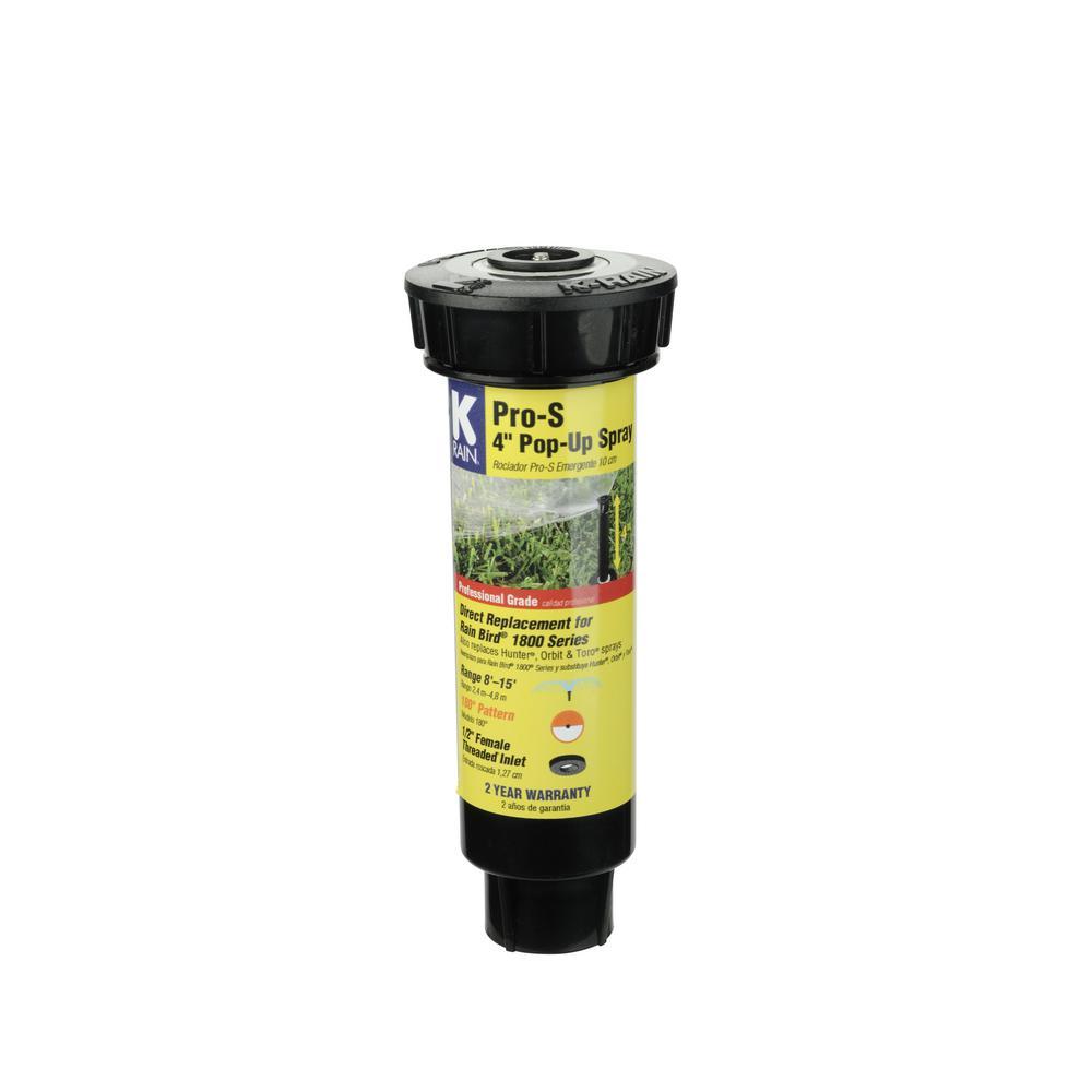 PRO-S 4 in. Half Pattern Pop-Up Sprinkler