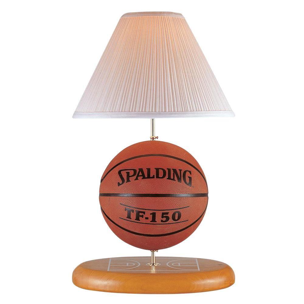 Illumine 17 in. Natural Basketball Novelty Lamp