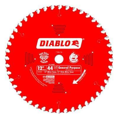 12 in. x 44-Tooth General Purpose Saw Blade (15-Pack)