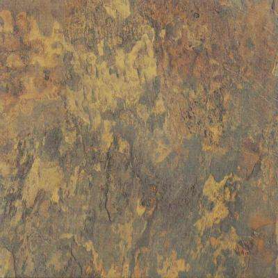 Nexus Multicolor 12 in. x 12 in. Peel and Stick Antique Marble Vinyl Tile (20 sq. ft./case)