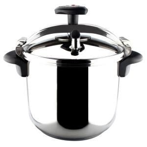Click here to buy Magefesa Star 8 Qt. Stainless Steel Stovetop Pressure Cookers by Magefesa.