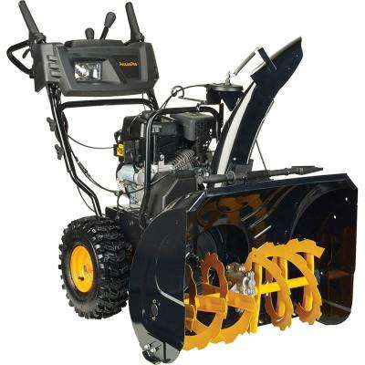 27 in. 254cc 2-Stage Electric Start Gas Snow Blower with Power Steering