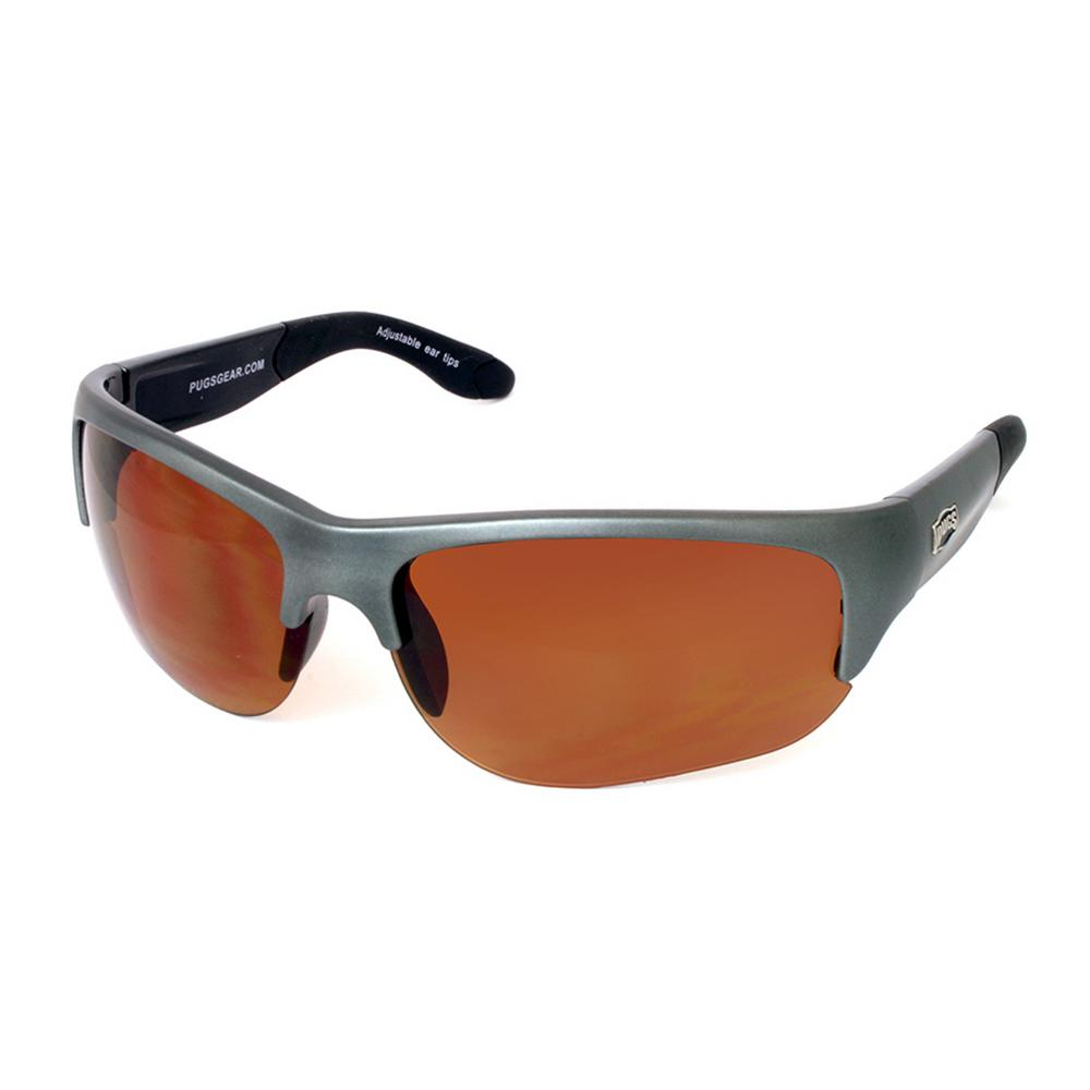 Unisex Curved TR90 Half Frame Style with Polycarbonate Decentered Lens Sunglass