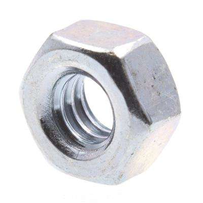 1/4 in.-20 A563 Grade A Zinc Plated Steel Finished Hex Nuts (50-Pack)