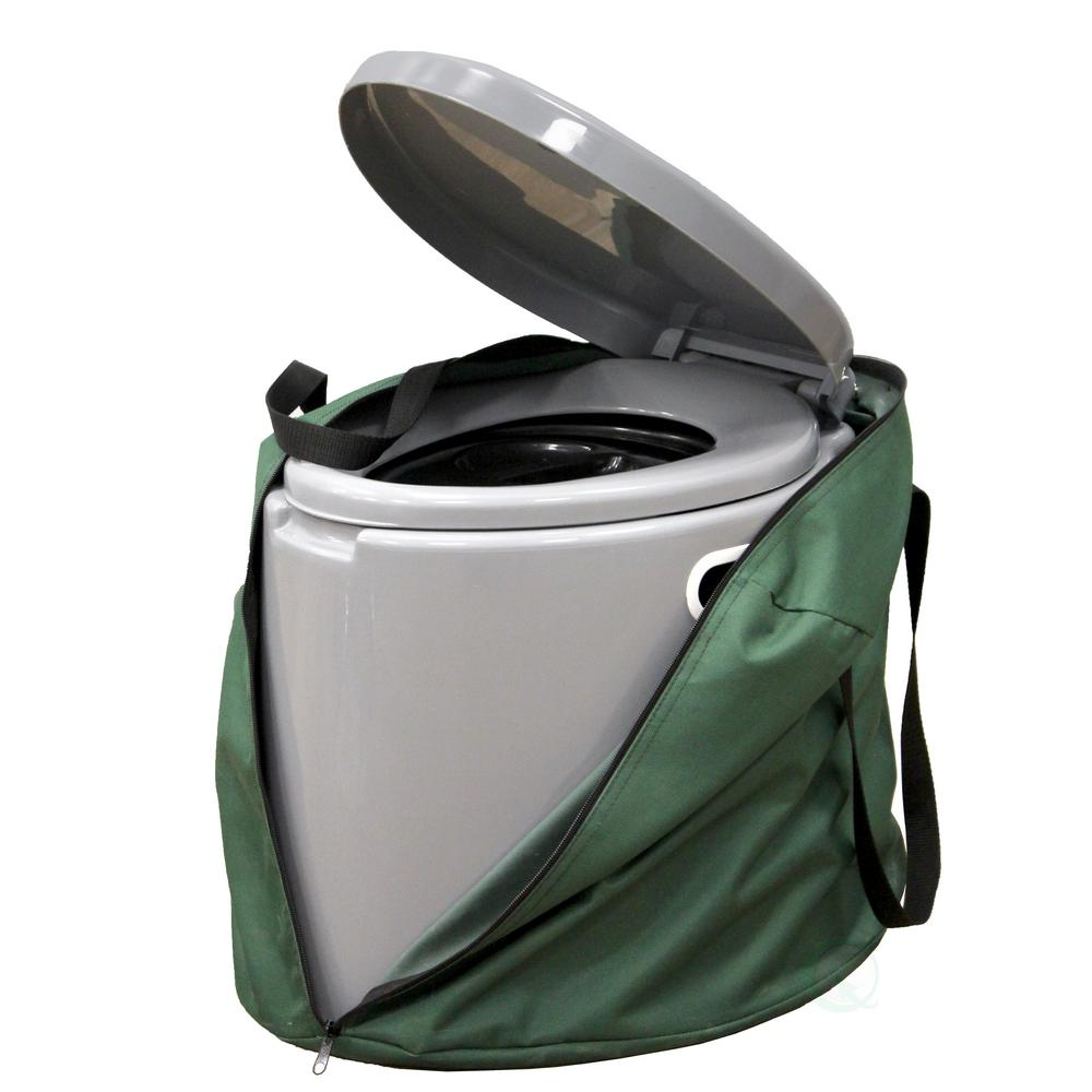 PLAYBERG Portable Travel Toilet For Camping and Hiking with Travel Bag  Non-Electric Waterless Toilet