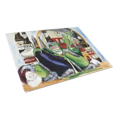 New Orleans Beers with Louisiana Spices Tempered Glass Cutting Board