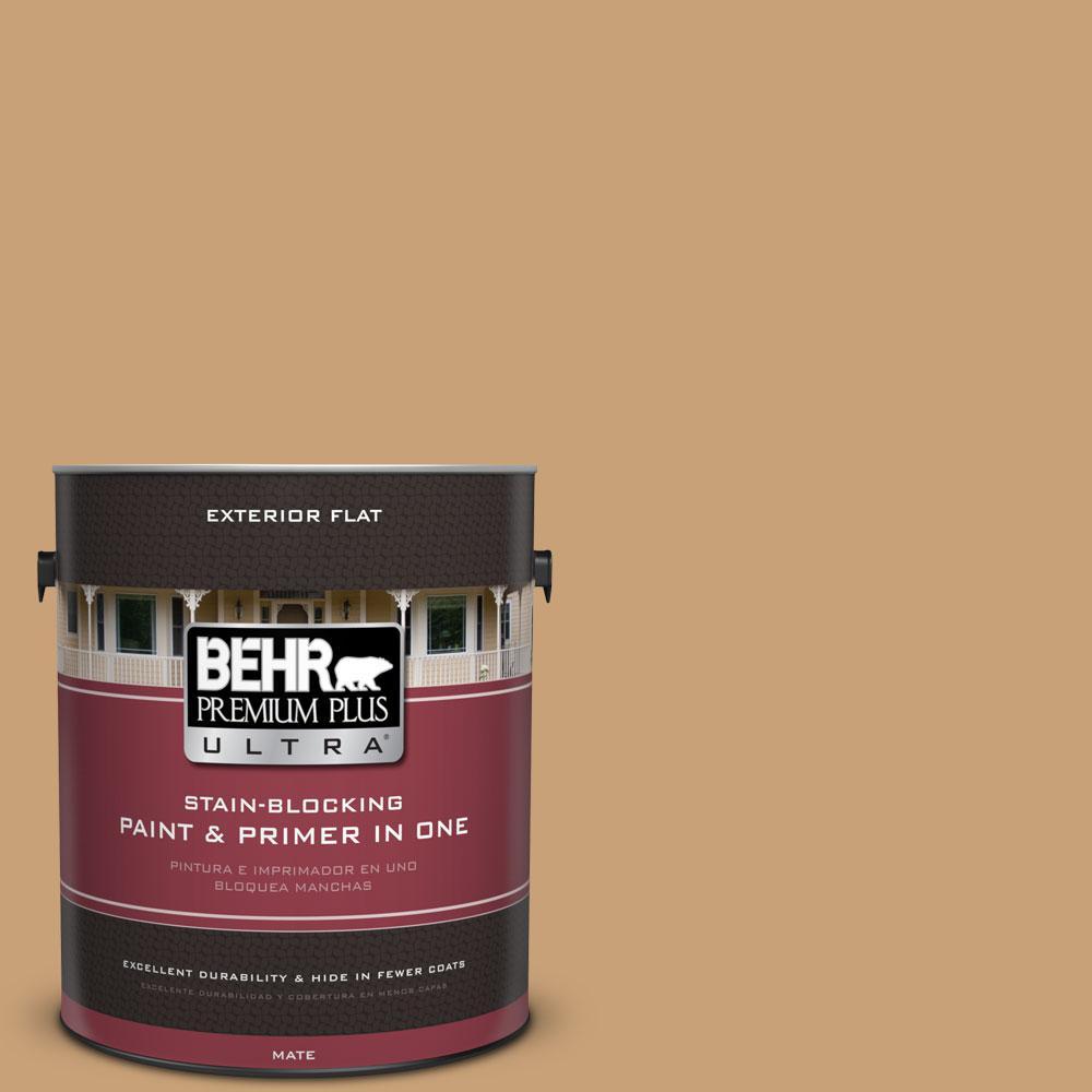 1-gal. #BXC-70 Fresh Sawdust Flat Exterior Paint