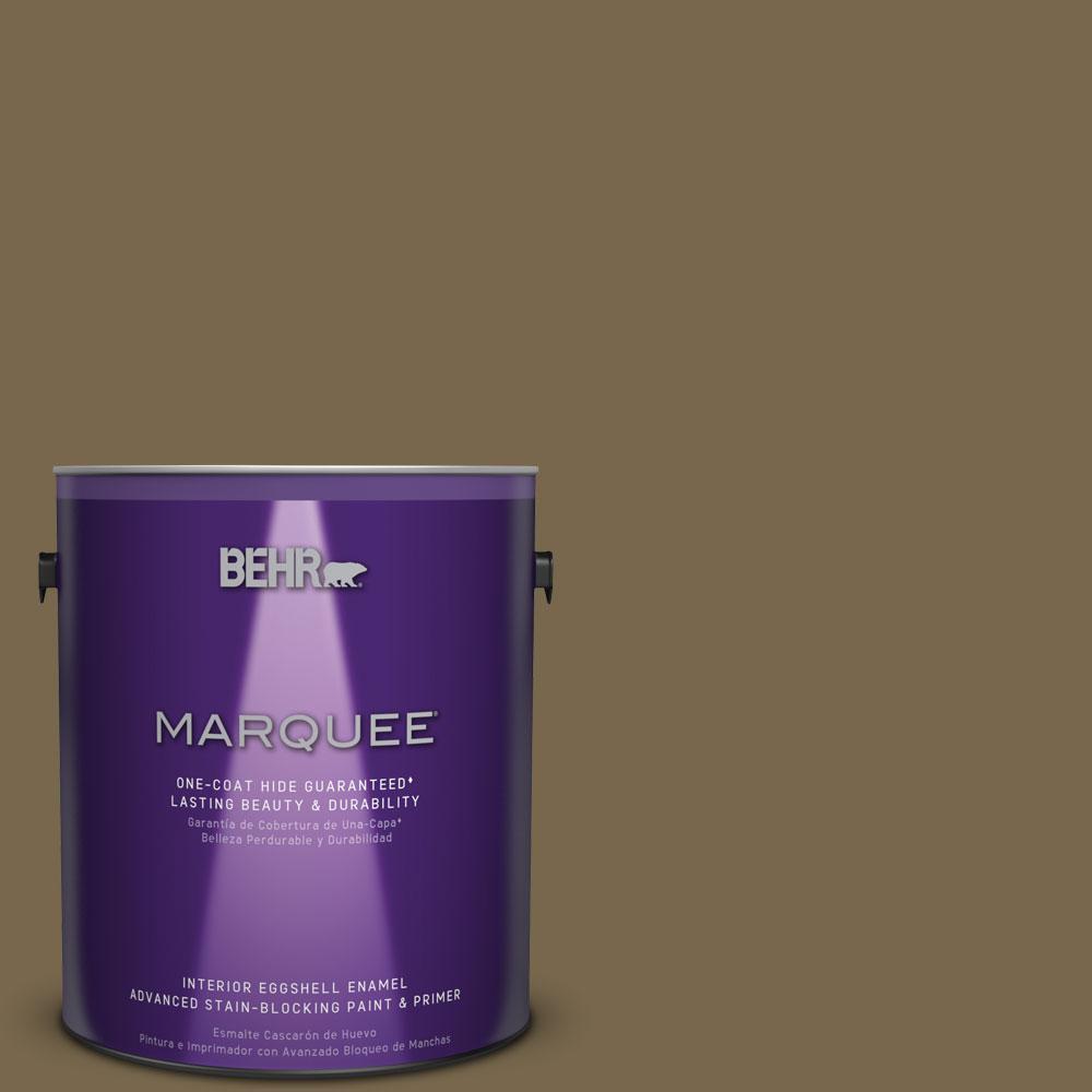 1 gal. #T14-6 Boho Eggshell Enamel Interior Paint