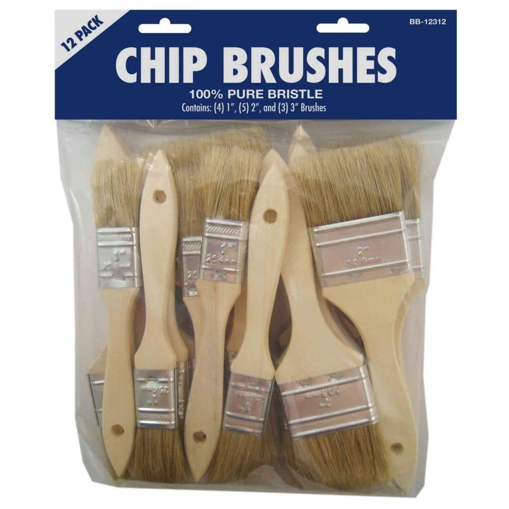 12-Piece Chip Brush Set