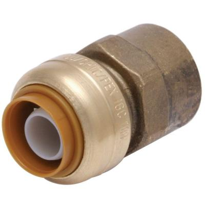 3/4 in. Push-to-Connect x FIP Brass Adapter Fitting
