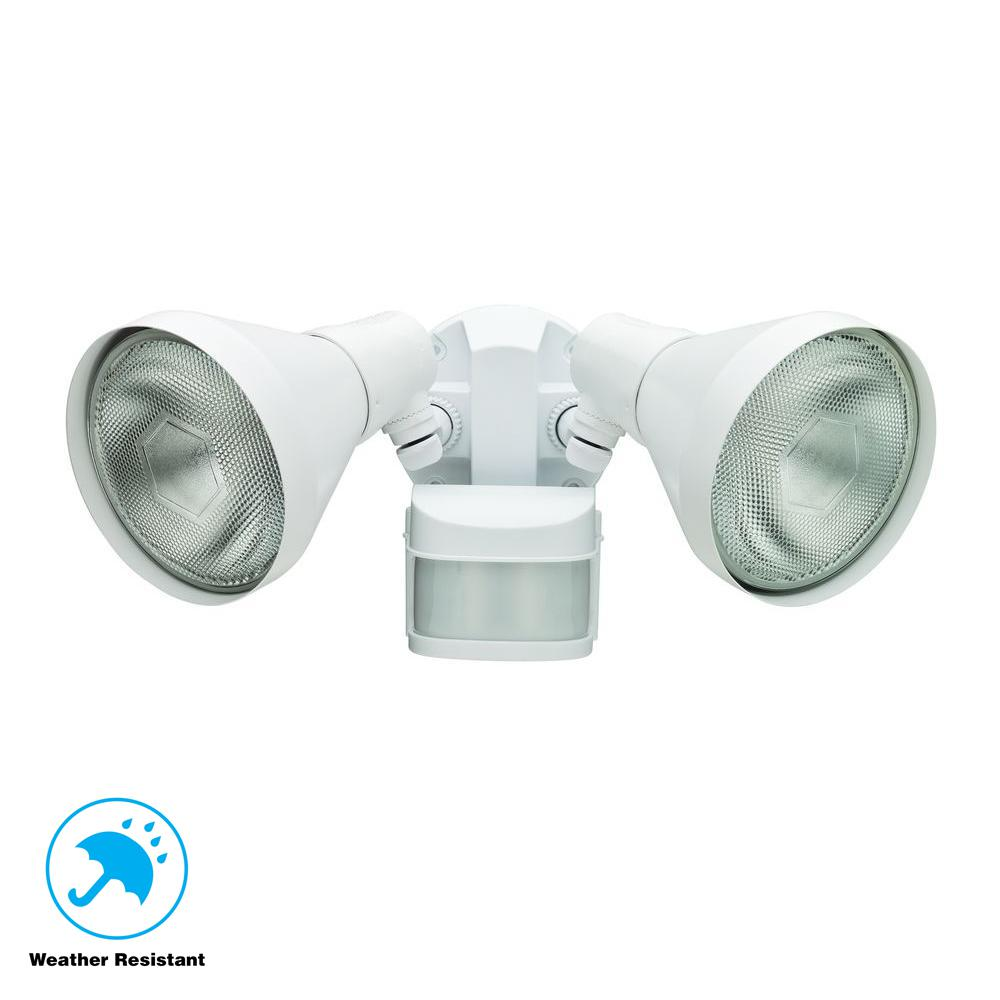 270-Degree White Motion Outdoor Security Area Light