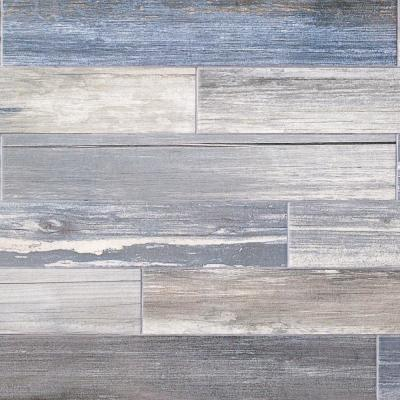 Grove Sky 4 in. x 24 in. 9.5 mm Natural Porcelain Tile (20-piece 12.91 sq. ft. / box)