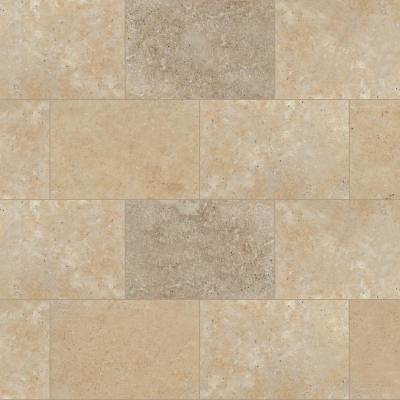 Mediterranean Walnut 16 in. x 24 in.  Tan Travertine Paver Tile (15 Pieces / 40.05 Sq. Ft. / Pallet)