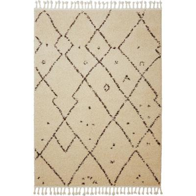 Nicole Miller Nepal Tara Ivory 7 ft. 10 in. x 10 ft. 2 in. Indoor Area Rug