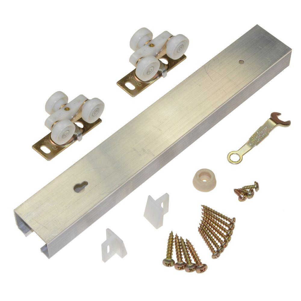 Johnson Hardware 100pd Series 72 In Pocket Door Track And Set