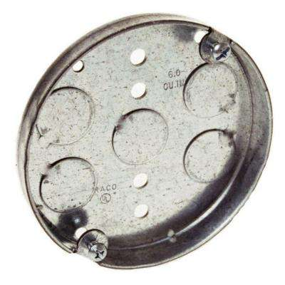 4 in. Drawn Round Ceiling Pan