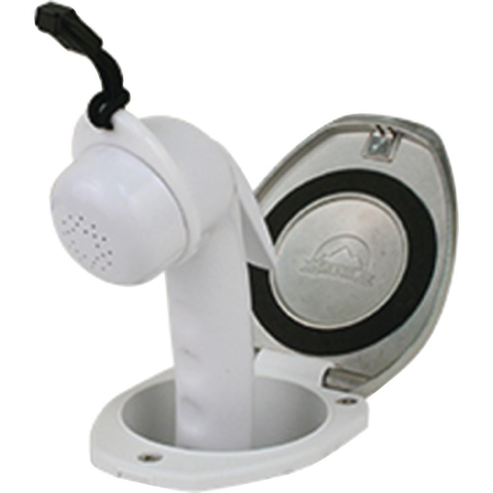 Recessed Euro Sprayer Shower, Stainless Steel