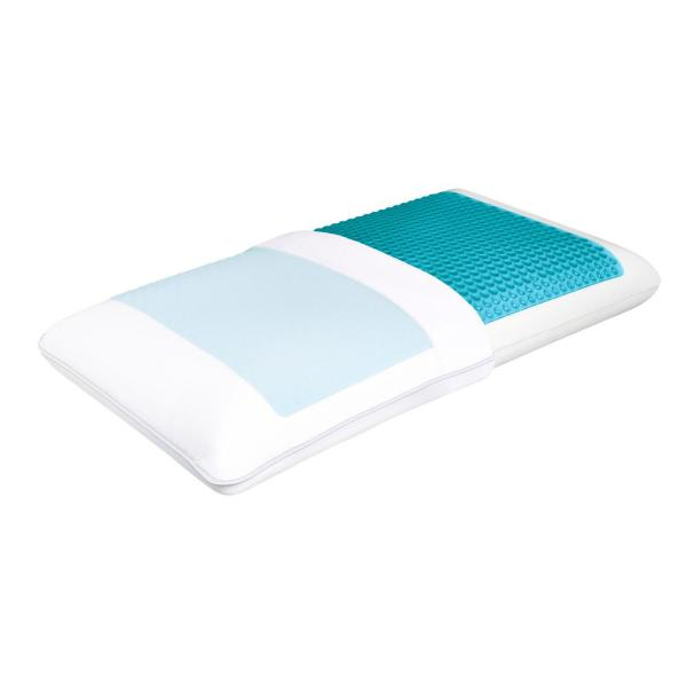 Comfort Revolution Cooling Gel Memory Foam King Pillow F01 00111
