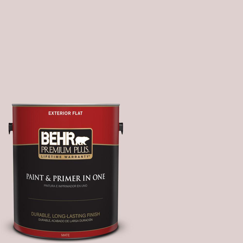BEHR Premium Plus 1-gal. #N150-1 Mocha Ice Flat Exterior Paint
