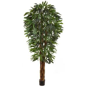 84 in. Raphis Silk Palm Tree
