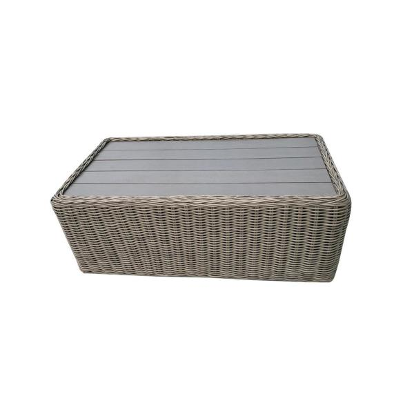 Tullum Rectangle Wicker Outdoor Coffee Table