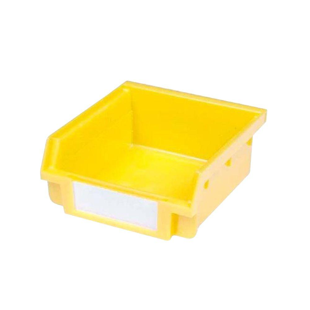 30-Compartment Small Yellow Hanging Storage Small Part Organizer-Non