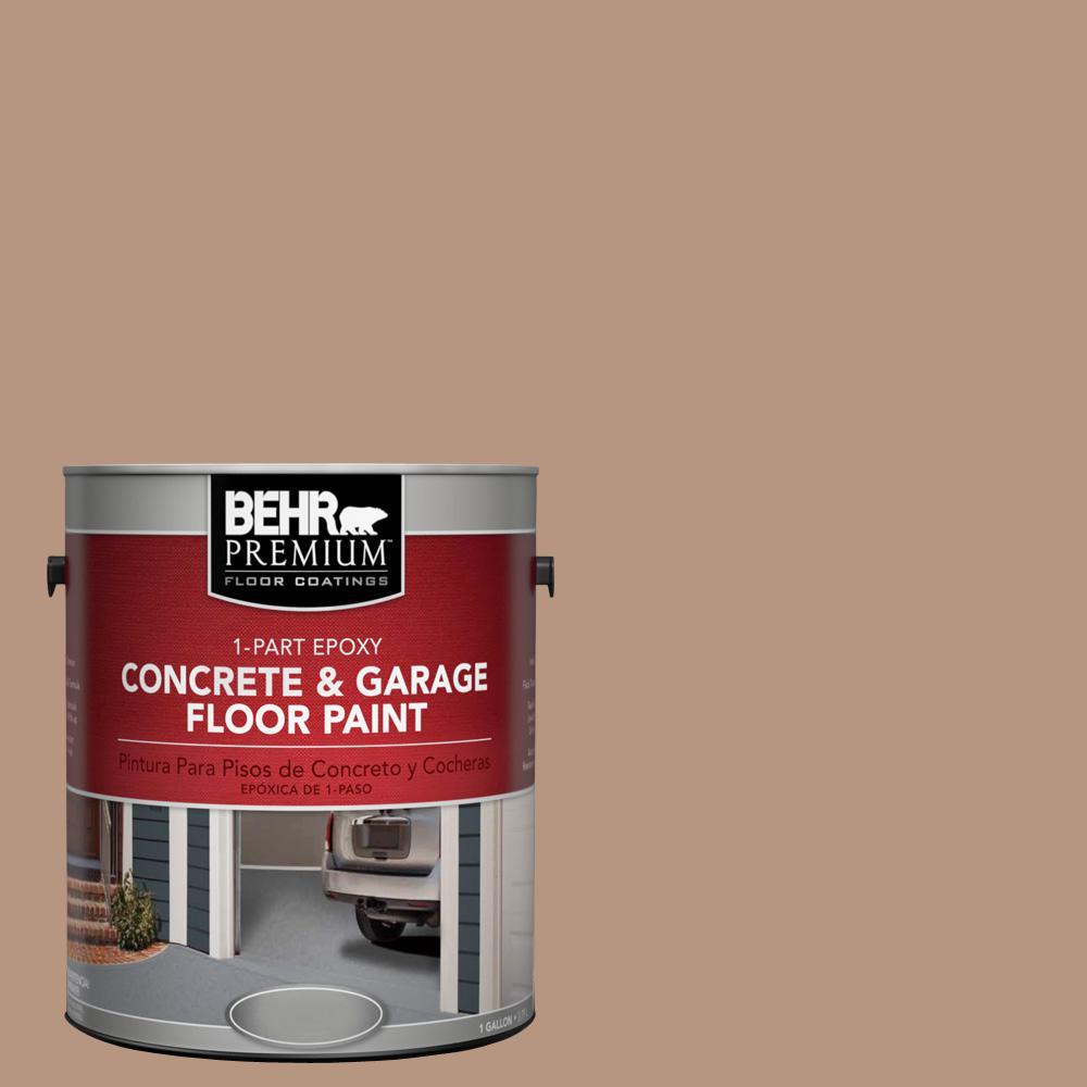 1 gal. #S220-4 Potter's Clay 1-Part Epoxy Concrete and Garage Floor Paint
