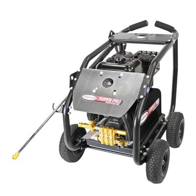 SuperPro Roll-Cage 4400 PSI at 4.0 GPM 420 cc with AAA Triplex Plunger Pump Cold Water Pressure Washer