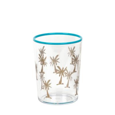 16.8 oz. Tropical Gold Accents Palm Tree Dof (Set of 6)