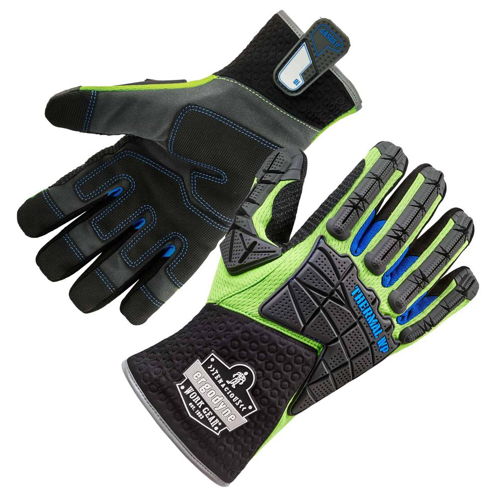 Ergodyne ProFlex 925WP Small Performance Dorsal Impact-Reducing Thermal Waterproof Gloves
