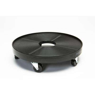16 in. Plant Dolly Black