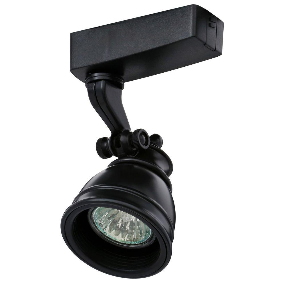 Juno Trac-Lites Low-Voltage Black Bell Light