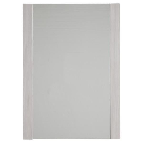 20 in. x 28 in. Single Framed Wall Mirror in Elm Sky