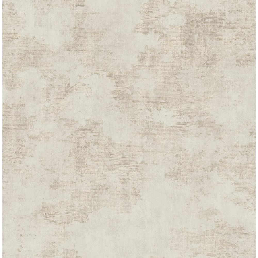 Seabrook Designs Glisten Texture Metallic Tan Faux Paper Strippable Roll Covers 56 05 Sq Ft Mk20105 The Home Depot