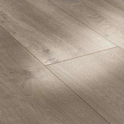 Square Gray Scratch Resistant Laminate Wood Flooring