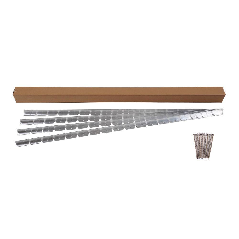 24 ft. Commercial Grade Aluminum Paver Edging Kit