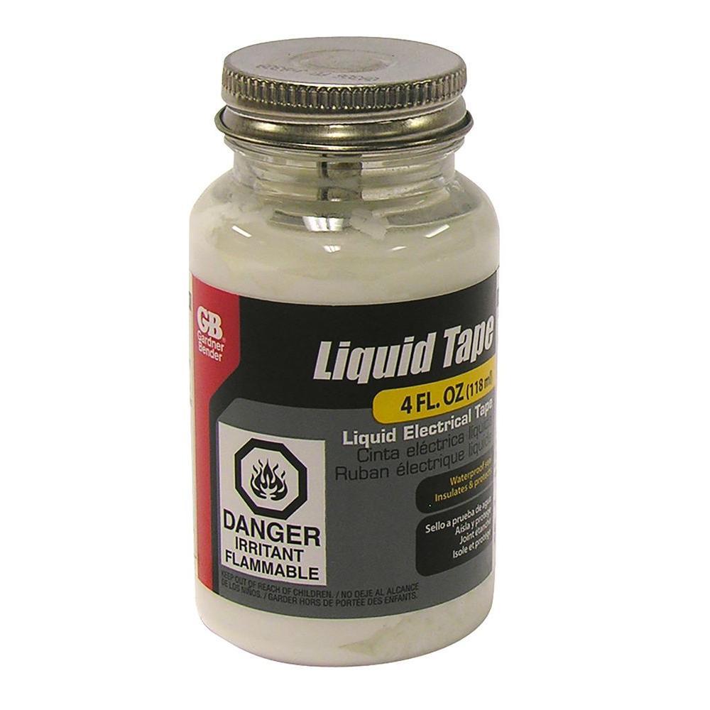 Gardner Bender White Liquid Electrical Tape 4 Oz Ltw 400